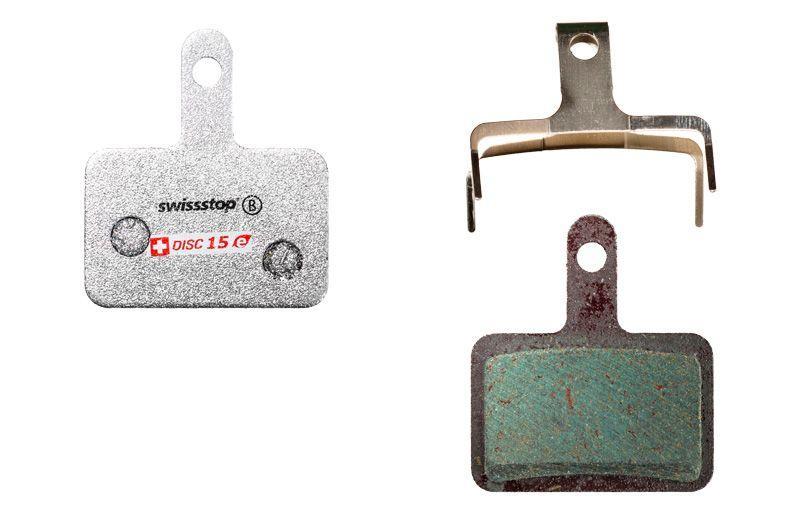 Колодки тормозные дисковые SwissStop Disc 15 E Compound (SWISS P100003790)
