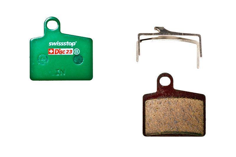 Колодки тормозные дисковые SwissStop Disc 23 C Compound (SWISS P100001426)