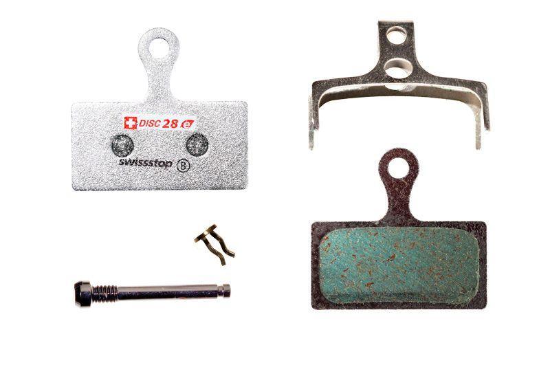 Колодки тормозные дисковые SwissStop Disc 28 E Compound (SWISS P100003792)