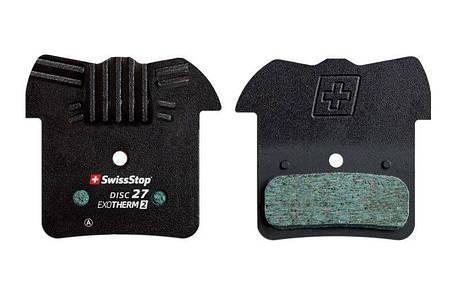 Колодки тормозные дисковые SwissStop Disc 27 EXOTherm2 (SWISS P100005312), фото 2