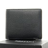 Кошелёк мужской кожаный BRETTON  11.5*9.5*2.5 черный, фото 1