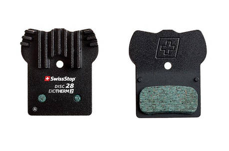 Колодки тормозные дисковые SwissStop Disc 28 EXOTherm2 (SWISS P100005310), фото 2