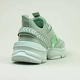 Кроссовки BaaS 1672-15 Ж 579343 Зеленые, фото 6