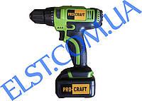 Шуруповерт Pro Craft PA182Li