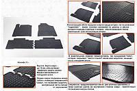 Ssang Yong Korando Резиновые коврики (4 шт, Stingray Premium)