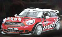 Игрушечный автомобиль BMW minicooper WRC R 60 на радиоуправлении