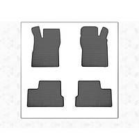 Opel Kadett Резиновые коврики (4 шт, Stingray Premium)