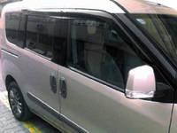 Fiat Doblo III nuovo 2010↗ и 2015↗ гг. Ветровики (Perflex Sport) 2 штуки