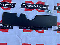 Skoda Fabia 2000-2007 гг. Зимняя накладка на решетку Матовая