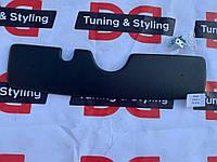 Skoda Fabia 2000-2007 гг. Зимняя накладка на решетку Глянцевая