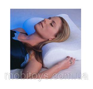 Подушка Memory Pillow ортопедическая с эффектом памяти (34101)