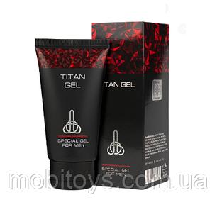 Гель для увеличения пениса Titan gel 75 ml оригинал 4042342000368