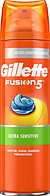 """Гель для бритья Gillette Fusion 5 """"Ultra Sensitive"""" (200мл.)"""