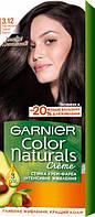 Крем-фарба для волосся Garnier Color Naturals, 3.12 Перламутровий темний каштан