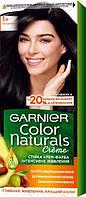 Крем-фарба для волосся Garnier Color Naturals, 1+ Ультра чорний