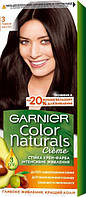 Крем-фарба для волосся Garnier Color Naturals, 3 Темний каштан