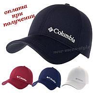 Детская подростковая модная и молодежная спортивная кепка бейсболка блайзер Columbia с липучкой
