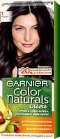 Крем-фарба для волосся Garnier Color Naturals, 1 Чорний