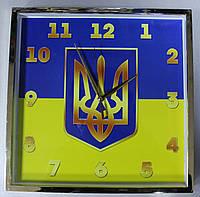 Часы настенные с символикой  Украины