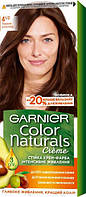 Крем-фарба для волосся Garnier Color Naturals, 4 (1/2) Темний шоколад