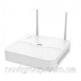4-канальний WiFi мережевий реєстратор Uniview NVR301-04LB-W