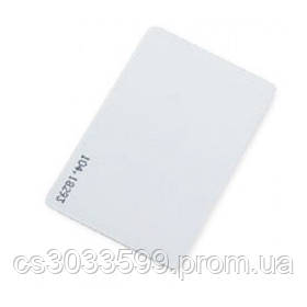 Безконтактна картка Em-Marine (TK4100), товщина 0,8 мм Робоча частота 125 КГц (БЕЗ КОДУ, ДЛЯ ПЕРЕЗАПИСУ)