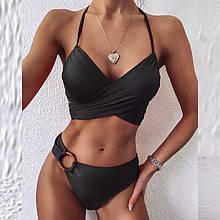 Жіночий купальник, біфлекс, р-р 42-44; 46-48 (чорний)