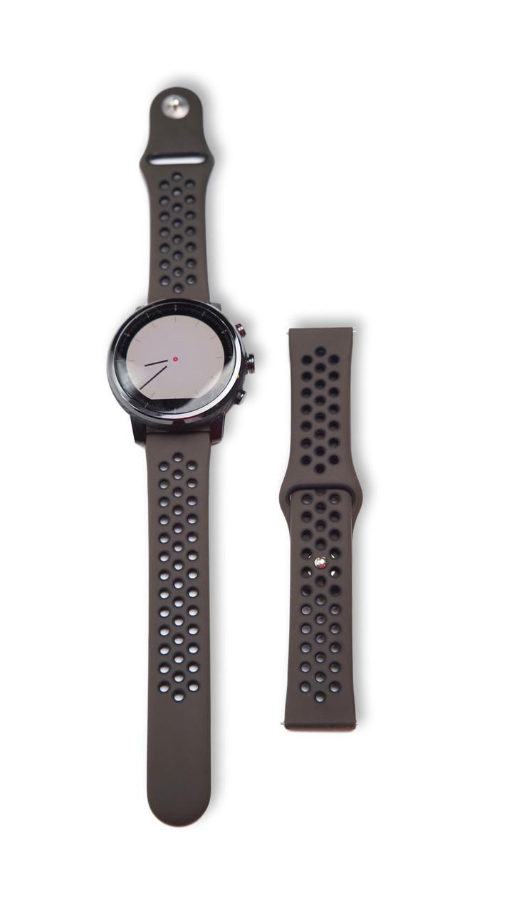 Ремінець BeWatch для смарт-годин Xiaomi amazfit Stratos/Pace Коричневий (10201911)