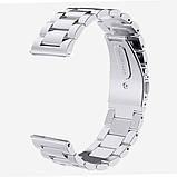 Ремешок BeWatch стальной для Samsung Gear S3 Серебро (1020405), фото 3