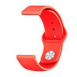 Ремінець BeWatch силіконовий для Xiaomi Amazfit BIP Червоний (1010303), фото 2