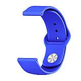 Ремешок BeWatch силиконовый для XiaomiAmazfit BIP Синий (1010305), фото 2