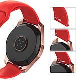 Ремінець BeWatch силіконовий для Samsung Galaxy Watch 42 мм Червоний (1010303.2), фото 3