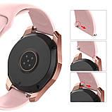 Ремешок BeWatch силиконовый для Samsung Galaxy Watch 42 мм Розовый (1010311.2), фото 3
