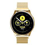 Ремешок BeWatch для смарт-часов Samsung Galaxy Watch Active Золотистый (1010228), фото 2
