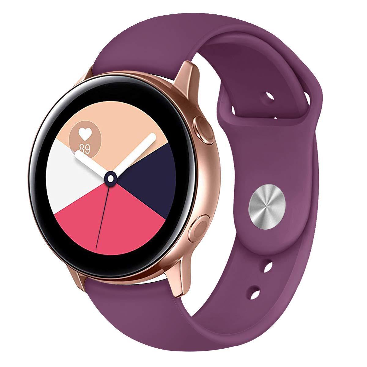 Ремінець BeWatch для Samsung Galaxy watch Active Фіолетовий (1010310)