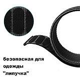 Ремешок BeWatch нейлоновый липучка для Samsung Galaxy Watch 46 мм Черный (1021301.1), фото 4