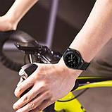 Ремешок BeWatch нейлоновый липучка для Samsung Galaxy Watch 46 мм Черный (1021301.1), фото 7