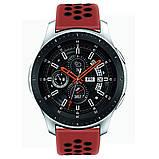 Ремешок BeWatch sport-style для Samsung galaxy watch 46 мм Red-Black (1020131), фото 6