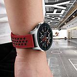 Ремешок BeWatch sport-style для Samsung galaxy watch 46 мм Red-Black (1020131), фото 7