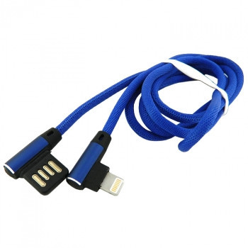 Дата кабель Walker C770 Apple Lightning to USB 1 м Dark Blue (hub_IspM60182)