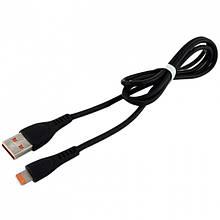Дата кабель Walker C570 Apple Lightning to USB 1 м Black (hub_SReQ73975)