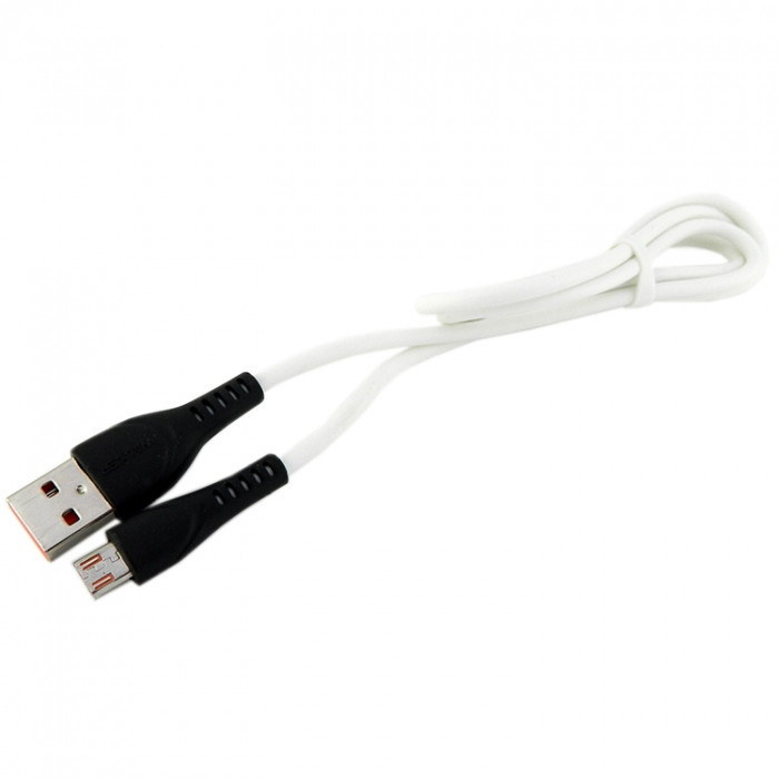 Дата кабель Walker C570 micro USB to USB 1 м White (hub_NopO87748)