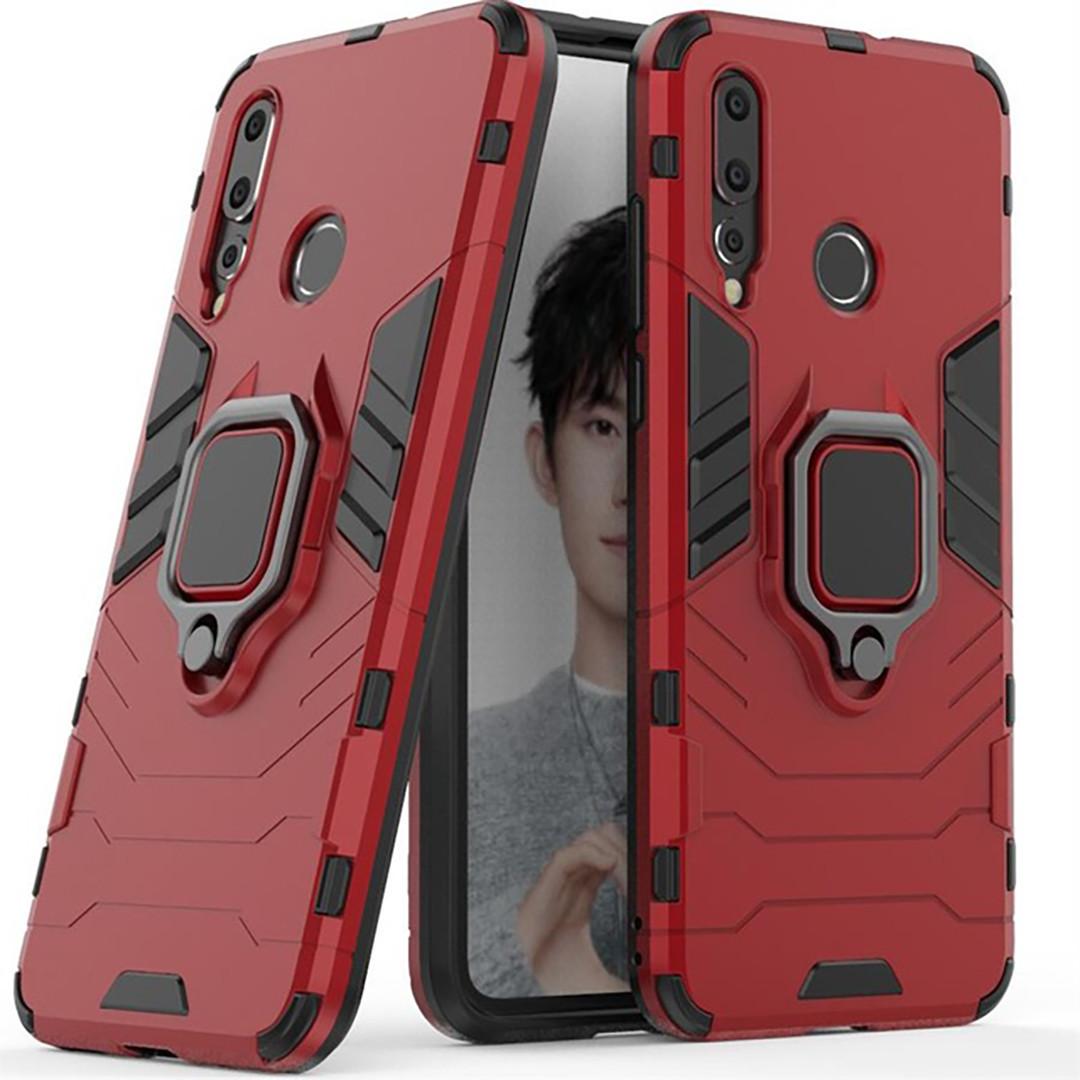 Чехол Ring Armor для Huawei Nova 4 Красный (hub_NYBa87233)