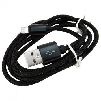Дата кабель Walker C520 Apple Lightning to USB 1 м Black (hub_CHZU90120)