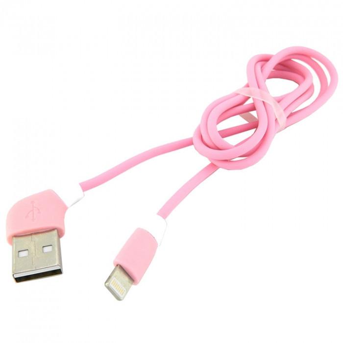 Дата кабель Walker C340 Apple Lightning to USB 1 м Pink (hub_OsEa79073)