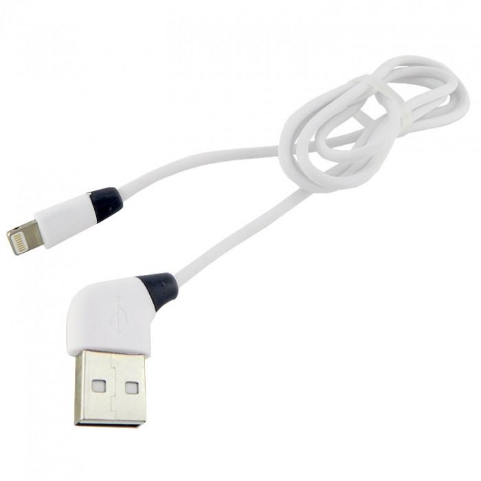 Дата кабель Walker C340 Apple Lightning to USB 1 м White (hub_mrBj43086)