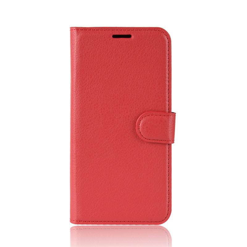 Чохол-книжка Litchie Wallet для Motorola Moto G7 Power Red (hub_WZFV88062)