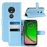 Чохол-книжка Litchie Wallet для Motorola Moto G7 Play Blue (hub_KcVn80763), фото 2