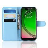 Чохол-книжка Litchie Wallet для Motorola Moto G7 Play Blue (hub_KcVn80763), фото 3