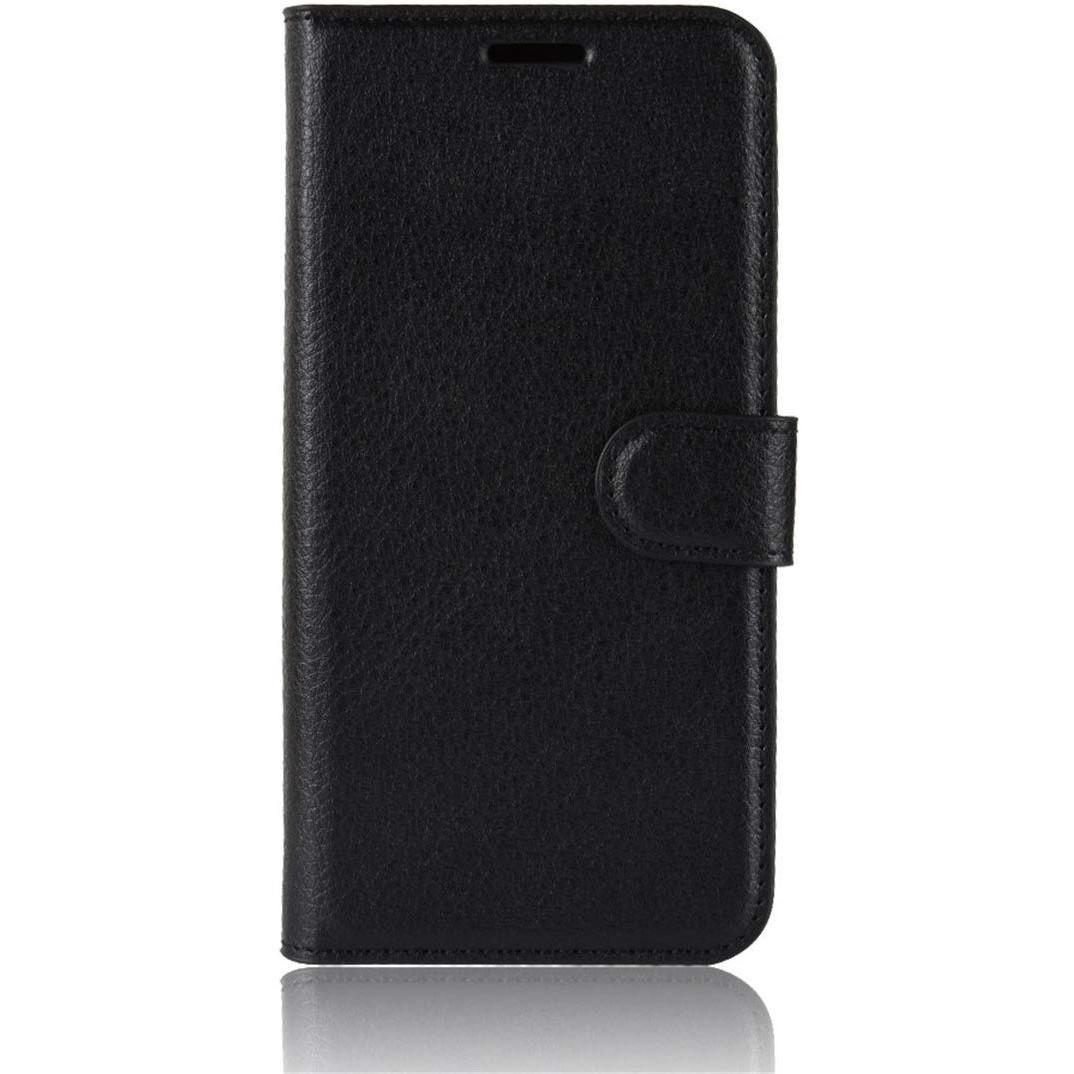 Чехол-книжка Litchie Wallet для Motorola One Zoom Black (hub_LGNx35054)
